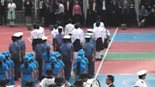 馬錦明慈善基金馬可賓紀念中學2010年5月20日畢業匯操1