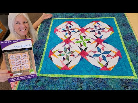 """(NO!) PAPER PIECING METHOD?? - MAKE A """"STARS WITHIN"""" QUILT!"""