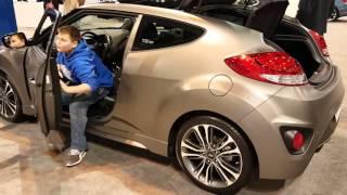 2016 Hyundai Veloster Turbo Auto Show