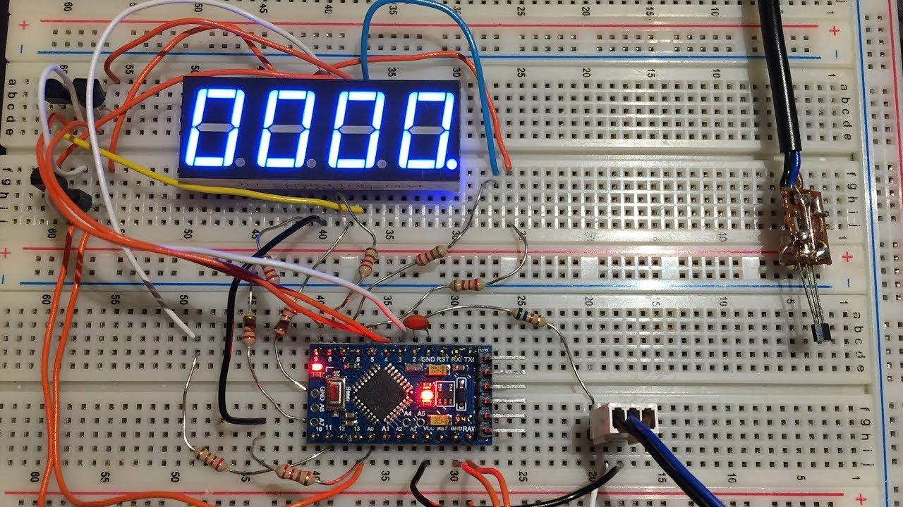 2//5//10 PCS 4Bits Digital Tube LED Display TM1637 Module With Clock Display NEW
