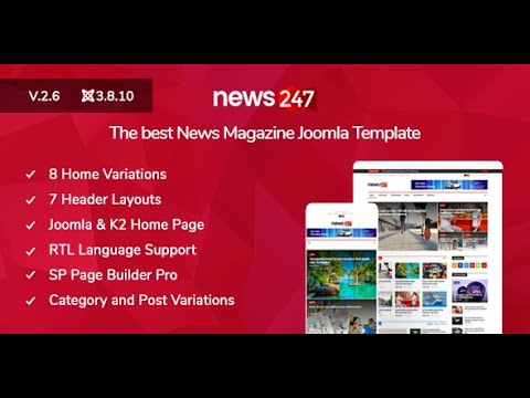 Joomla News247 Homepage Title And Module