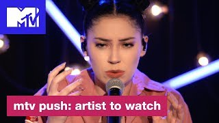 Bishop Briggs Performs Her Hit Song River MTV Push Artist To Watch