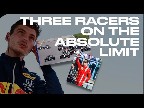 Three F1 racers on the absolute limit by Peter Windsor