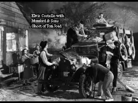 Elvis Costello and Mumford & Sons - The Ghost of Tom Joad