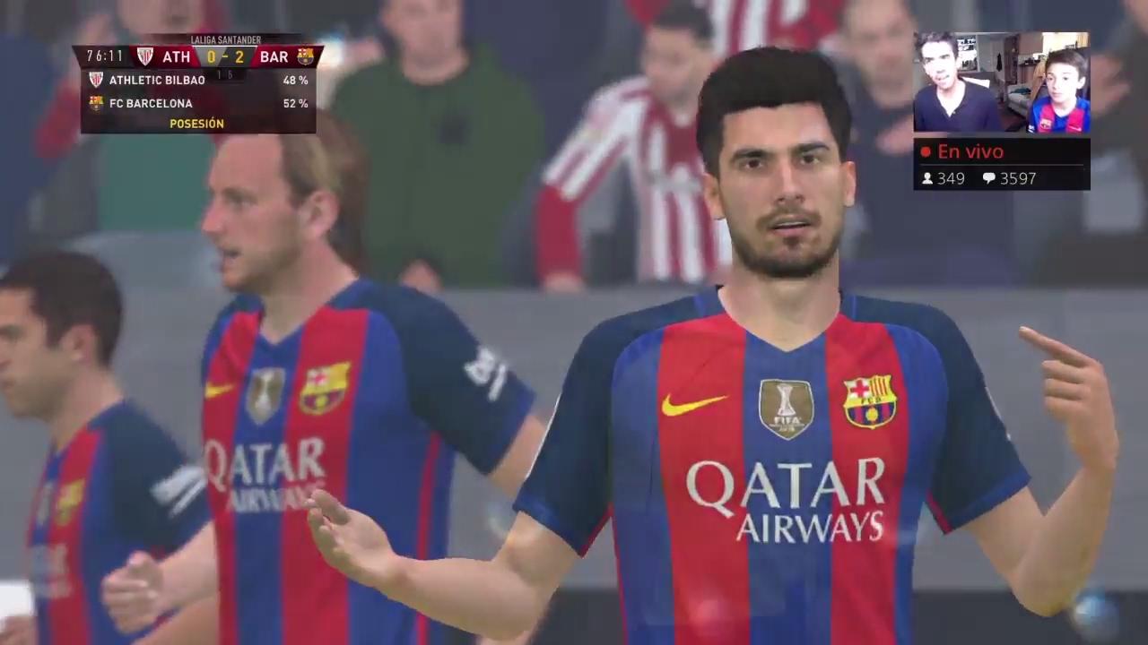 FC BARCELONA Vs ATHLETIC BILBAO EN VIVO - YouTube