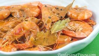 Adobong Hipon sa Gata by Panlasangpinoy
