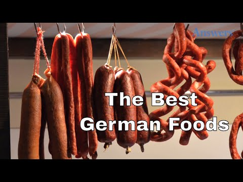 German Foods You Absolutely have To Try