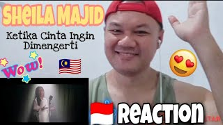 Download 🇮🇩 Reaction   Sheila Majid - Ketika Cinta Ingin Dimengerti ( Official Music Video ) 🇲🇾