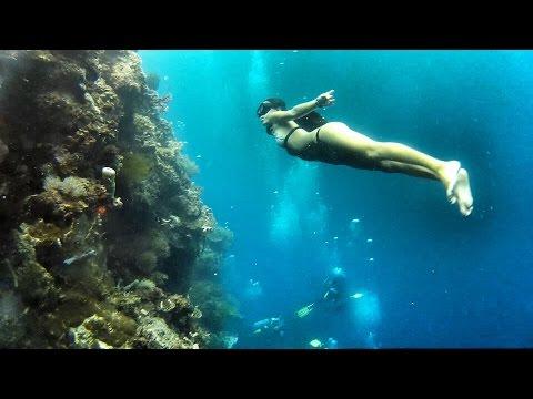 薄荷島 自由潛水20170312 panglao freediving nofin fundive