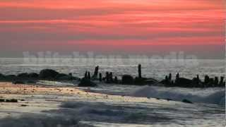 Stock Footage Europe Germany Baltic Sea Sunset Mecklenburg Meeresrauschen Relax Ostsee Urlaub