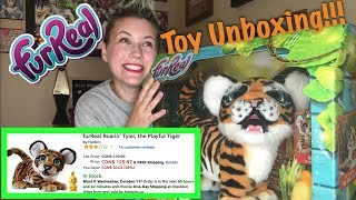 Unboxing My Son's Birthday Present (FurReal Tiger🐯)