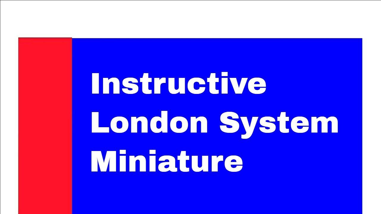 London System Miniature: Johnsen S vs Kristiansen