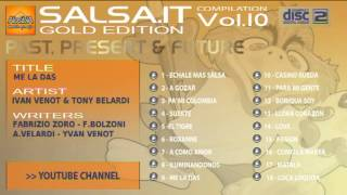 SALSA.IT VOL.10 GOLD EDITION:ME LA DAS,IVAN VENOT & TONY VELARDI