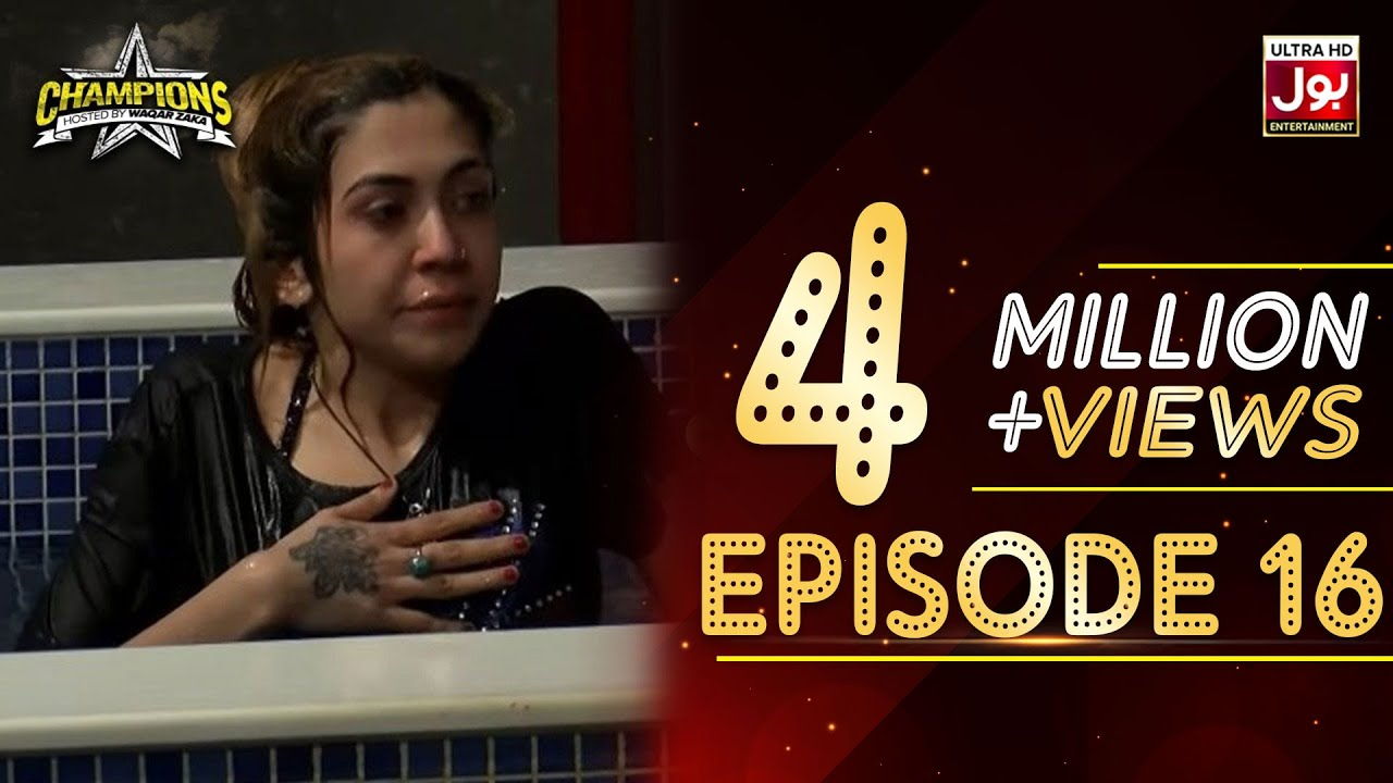 Champions With Waqar Zaka Episode 16 | Champions BOL House | Waqar Zaka Show
