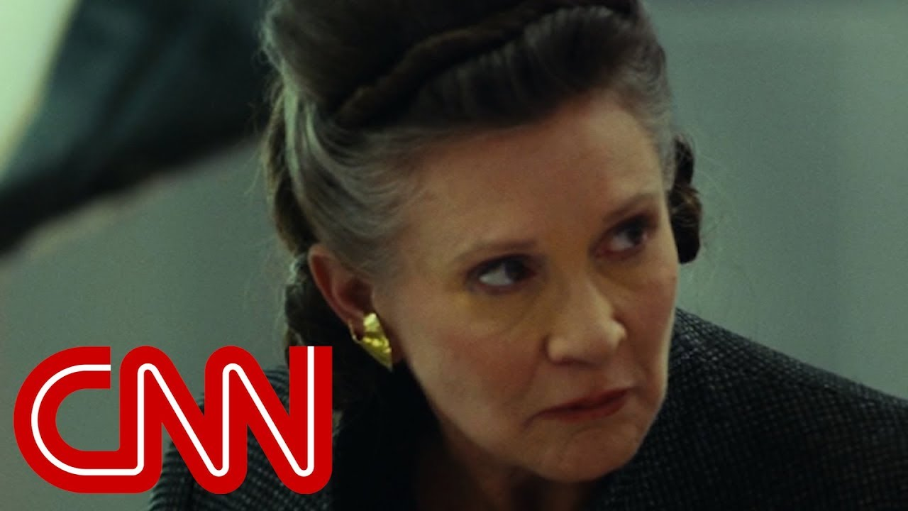 Carrie Fisher's farewell in 'Star Wars: The Last Jedi'