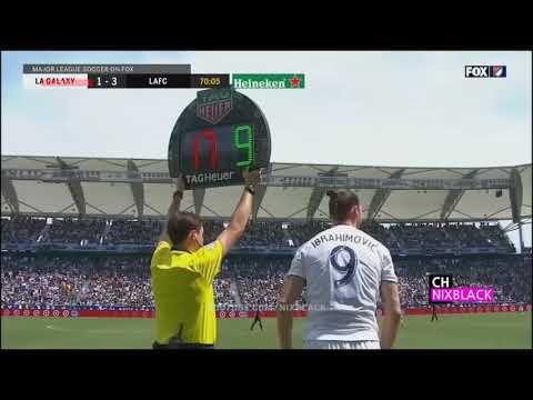 Zlatan Is Back! God! Ibrahimovic! LA Galaxy 4 3 Los Angeles FC All Goals Highlig