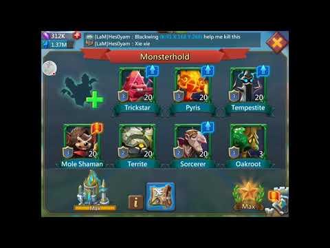 Lords Mobile! Familiar Enhancement.