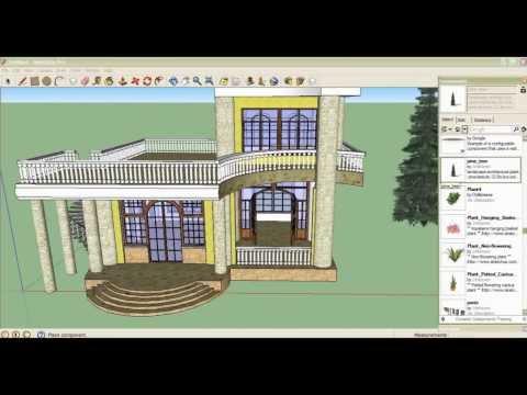 คบกวางสร้างบ้าน By Google sketchUp