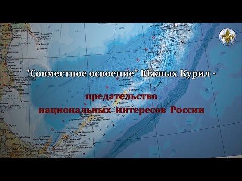 """""""Совместное освоение"""" Южных Курил - предательство национальных интересов России"""