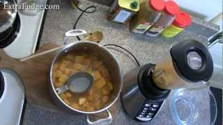 Quick And Easy Butternut Squash Soup Recipe Demonstration