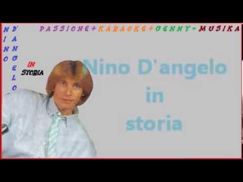 NINO D'ANGELO Storia karaoke