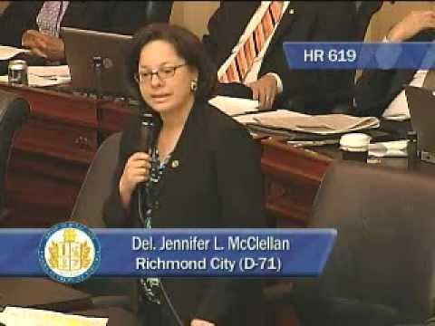 Del. Jennifer McClellan Speaks on Tracy Thorne-Begland Nomination
