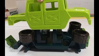 Building Toys FOr Children, Unboxing take apart Toys, Car, Assembly and play