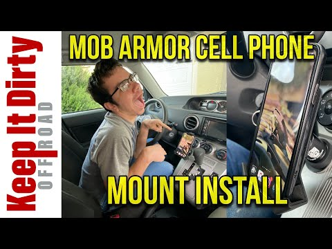 Mob Armor Cell Phone Mount Installation