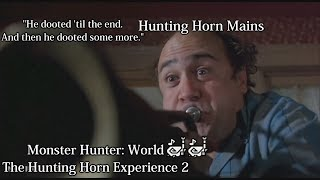 Monster Hunter World - The Hunting Horn Experience 2