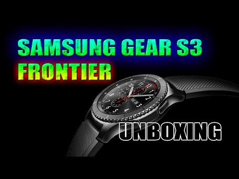 Samsung Gear S3 Frontier Unboxing ((PT))