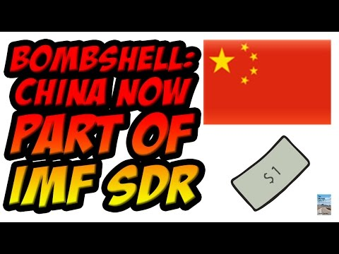 China Yuan Now Part of IMF SDR as Global Financial System Collapsing!