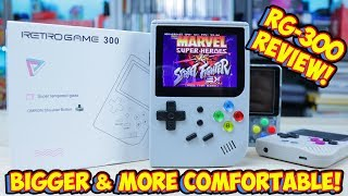 Retro Game 300 Emulation Handheld Review! Bigger But Is It Better?