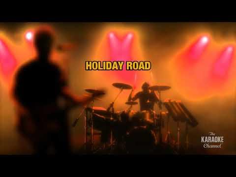 Holiday Road in the style of Lindsey Buckingham | Karaoke with Lyrics