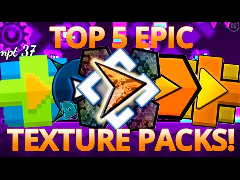 5 Awesome Geometry Dash Texture Packs  2.11