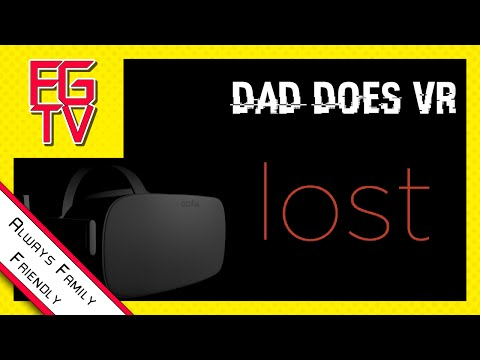 LOST Oculus Rift CV1 (FAMILY FRIENDLY) Gentle Giant Finds Hand Doggy.  CLEAN [FGTV] Dad Does VR
