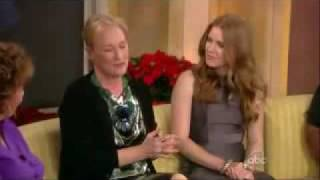 Meryl streep and amy adams on the view (2 of 2)
