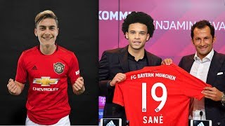Dybala Welcome To Manchester United? Confirmed & Rumours Summer Transfers 2019 ft. Dybala , Sane |HD