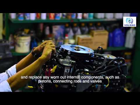 How to | Mercury Marine Outboard Service Repair knowledge Spare Parts Singapore Asia | Tutorial