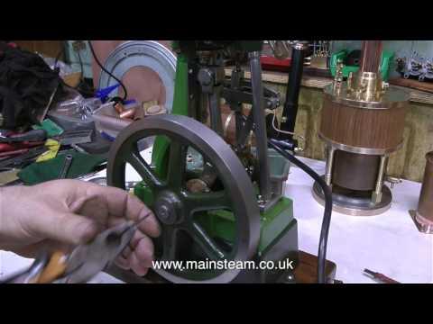 STUART NUMBER ONE STEAM ENGINE REPAIR -  PART #2