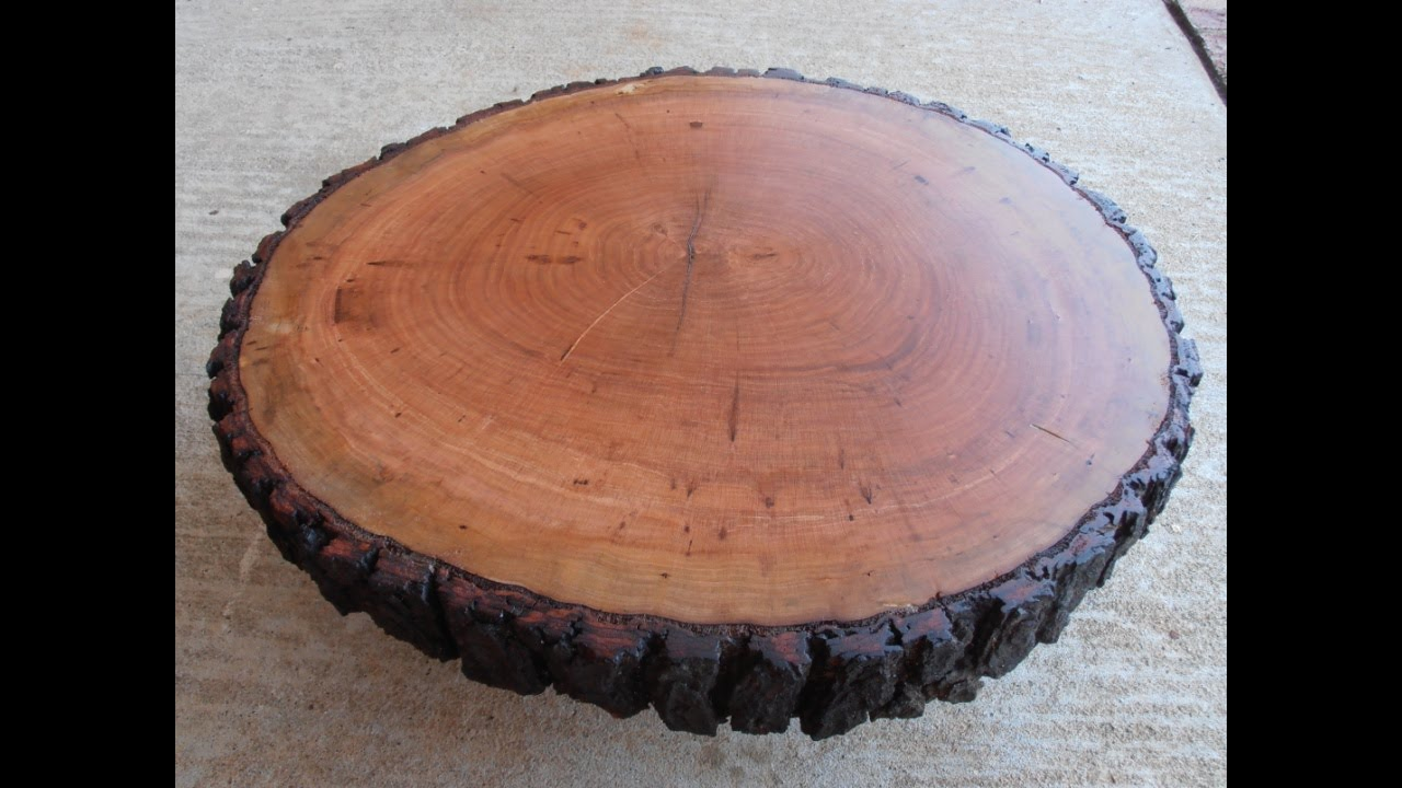 Making a Rustic Wooden Table Centerpiece - YouTube