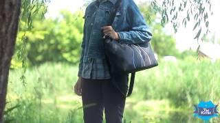 Женская сумка-саквояж Сетчел «Коты с бабочкой» купить в Украине. Обзор