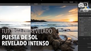 Lightroom ES - Tutorial 4 Revelado RAW (Puesta de sol)