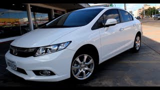 Test Drive Honda Civic EXR 2.0 2014 (Canal Top Speed)