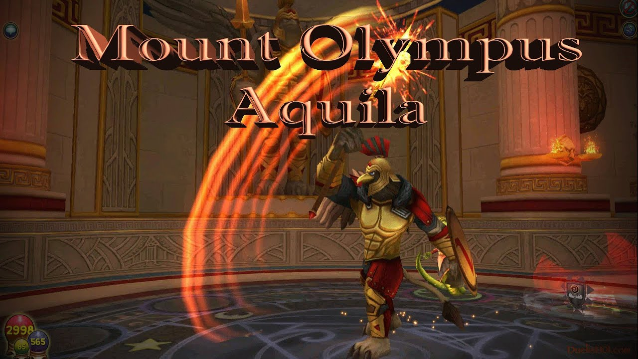 Wizard101 Mount Olympus Aquila Complete Guide by Heather Shadowslinger