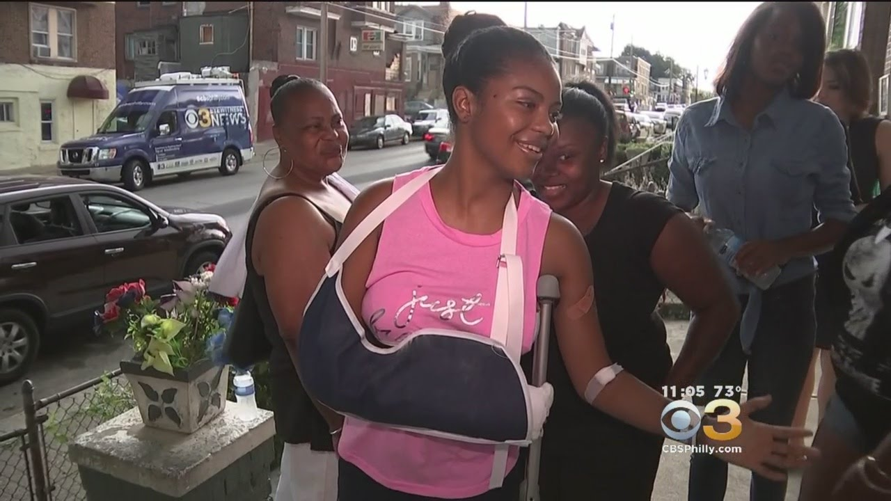 16 Year Old Speaks Out After Being Shot 6 Times In Sw Philadelphia