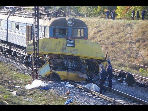 Катастрофы на железнодорожных переездах/Accidents at railway crossings.