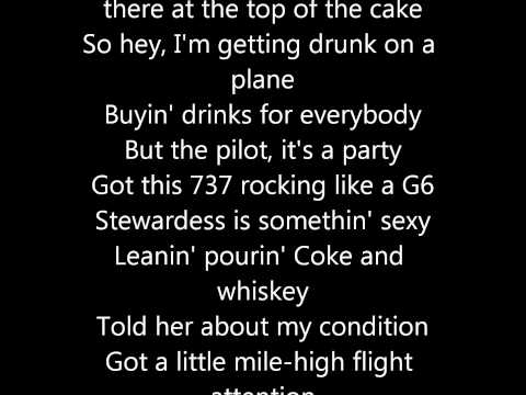 Dierks Bentley- Drunk on A Plane w/Lyrics