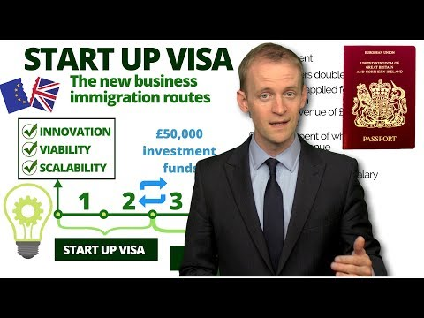 START UP VISA For The UK 🇬🇧 (How To Apply) In 2020 ✅️