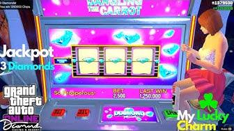 Jackpot Hit 3 Diamonds Best Way To Make Money Casino GTA Online How To Make Money