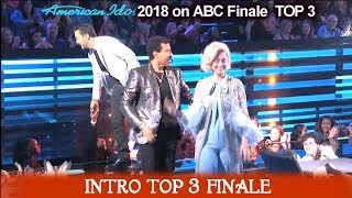 American Idol 2018 Finale Top 3 Intro Behind the Scene  American Idol Finale on ABC